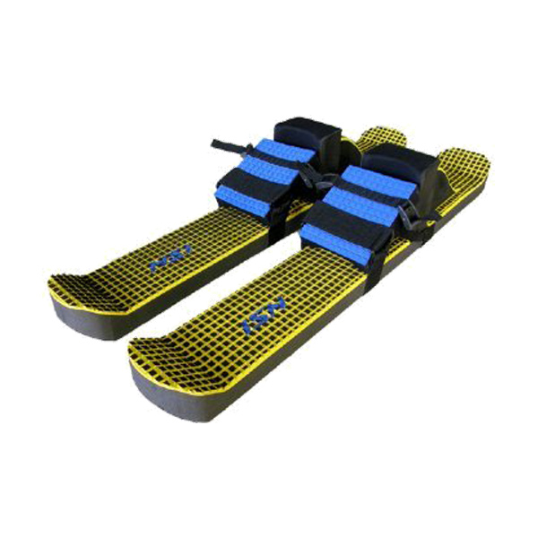 Super Fun Trampoline – BounceBoard Skis