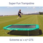 Super Fun Trampoline - Extreme 11 ft x 17 ft GTS