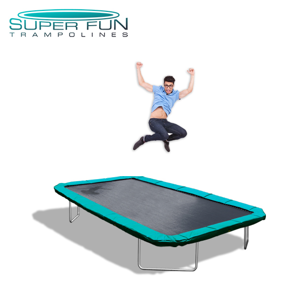 Super Fun Trampolines – Extreme 11 ft x 17 ft GTS